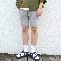 SBTRACT(サブトラクト)/FLEECEMACHINE HARD SHORT PANTS -GRAY-