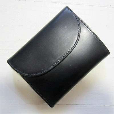 whitehouse cox ホワイトハウスコックス [small 3 fold wallet][s1058][black]