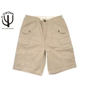 【期間限定30%OFF!】CORONA(コロナ) /#CP61 OUT BACKER SHORTS/light tan