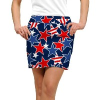 LoudMouth Ladies Star Studded Skort【ゴルフ レディース>スコート】