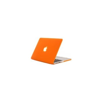 "Kuzy - Retina 13-Inch ORANGE ゴム引きハードケース for MacBook Pro 13.3"" with Retina Display A1502 / A1425 ..."