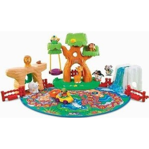 Fisher Price フィッシャープライス A to Z learning Zoo 動物園