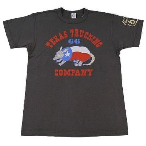 "トイズマッコイ TOYS McCOY Tシャツ 半袖 ""TEXAS TRUCKING COMPANY"" ROUTE 66 tmc1444"