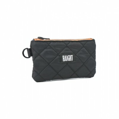 【 HAIGHT QUILTING POUCH (S) Black 】 ( haight ヘイト キルティング ポーチ バッグ Quilting POUCH BAG )
