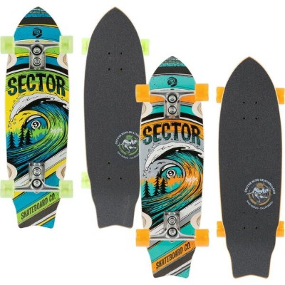 SECTOR 9 WAVEPARK Complete SF157C セクターナイン スケートボード 【1018981】