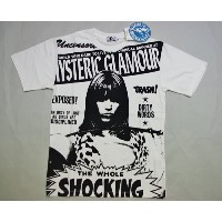 HYSTERIC GLAMOUR THE WOLE SHOCKING STORY pt T-SH