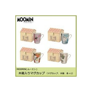 MOOMIN(ムーミン) forest of the four seasons 木箱入りマグカップ