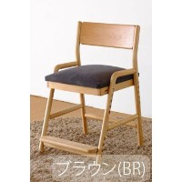 ISSEIKI DESK CHAIR デスクチェア 選べるカラー 幅45 (NA/WH+BR) 木製家具 FIORE DESK CHAIR (NA/WH)+COVER (BR)
