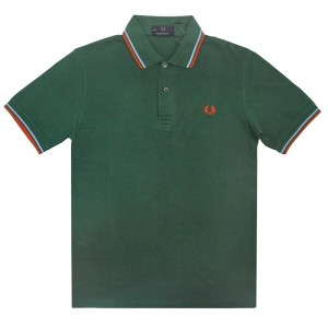 THE ORIGINAL FRED PERRY(フレッドペリー)【MADE IN ENGLAND】 M-12 S/S POLO SHIRTS (イギリス製 M12 半袖ポロシャツ) GREEN...