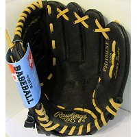 Rawlings Playmaker Series 11-インチ Youth ベースボール Glove Mitts Infield/Outfield, Right-ハンド スルー (PM110MNF...