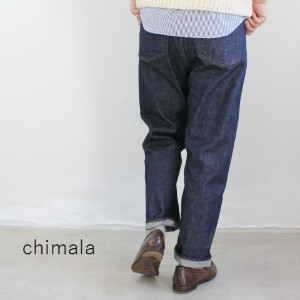chimala(チマラ)13.5OZ CHIMALA SPECIAL SELVEDGE DENIMWIDE TAPERED CUTmade in japancs22-wp01b-2g