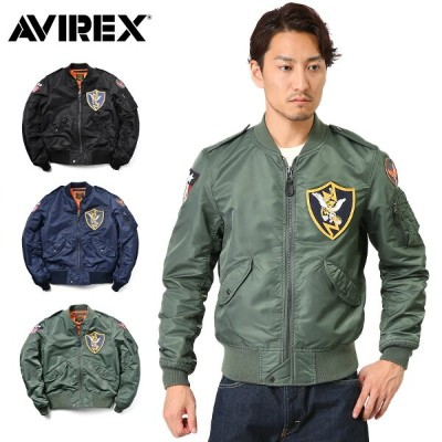【10%OFFクーポン対象】AVIREX アビレックス 6162163 L-2 PATCHED FLYING TIGERS フライトジャケット《WIP》