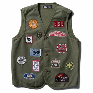 【Softmachine】ソフトマシーン【SCOUT VEST】Olive Lsize【ベスト】ソフトマシン【送料無料】20000