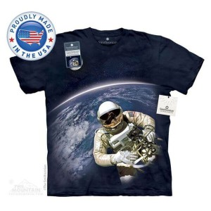 The Mountain Tシャツ The Smithsonian First American Space Walk (The Smithsonian 宇宙 宇宙飛行士 メンズ 男性用 男女兼用)...