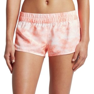 ハーレー レディース ボトムのみ スイムウェア Hurley SuperSuede Tie Dye Beachrider Board Short - Women's Atomic Pink