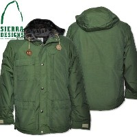 SIERRA DESIGNS (シエラデザインズ) PENDLETON LINED SHORT PARKA GREEN 7261