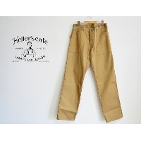 HELLER'S CAFE ヘラーズカフェ WWI U.S.ARMY Twill Work Pants ツイル アーミーワークパンツ