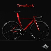 TOMAHAWK(トマホーク)【COLOR:GARNET RED】ROCKBIKES(ロックバイクス)ブルホーンシングルスピードバイク【送料プランC】 【完全組立】【店頭受取対応商品】