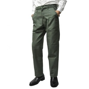 GUNGHO(ガンホー) 【MADE IN U.S.A】 4 POCKET TAPERED FATIGUE PANTS(アメリカ製 テーパード ファティーグパンツ) OLIVE