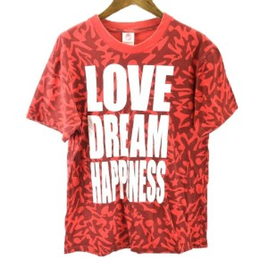 EXILE PERFECT YEAR2008 LOVE DREAM HAPPINESS 半袖 Tシャツ S 赤 激安 ★ メール便可 5400円以上ご購入で送料無料【BIG2nd大阪】【170501...