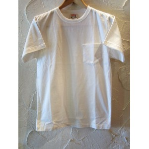 GLAD HAND(グラッドハンド)/STANDARD POCKET T-SHIRTS WHITE