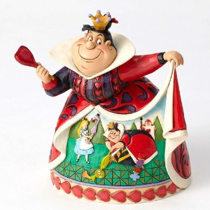 ディズニー ジム・ショアーRoyal RecreationQueen of Hearts65th AnniversaryAlice in Wonderland Figurine不思議の国のアリス赤の女...