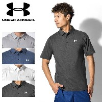 【MAX500円OFFクーポン配布】 アンダー アーマー チャージコットン ロゴ 半袖 ポロシャツ (UNDER ARMOUR CHARGED COTTON SCRAMBLE LOGO POLO...