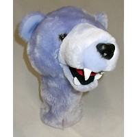 Daphne's ラベンダー Grizzly クマ 460cc Golf Headcover (海外取寄せ品)