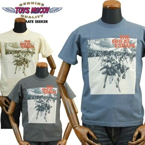 TOYS McCOYトイズマッコイ THE GREAT ESCAPE Tシャツ「THE GREAT ESCAPE POSTER」TMC1716