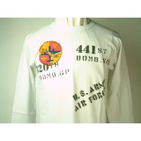 """Buzz Rickson's(バズリクソンズ)Long Sleeve T-ShirtsU.S. ARMY AIR FORCES """"LITTLE SHERRY"""" 320th BOMB. GP...."""