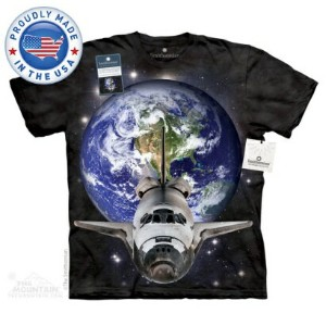 The Mountain Tシャツ The Smithsonian Canaveral Takeoff (The Smithsonian 宇宙 スペースシャトル メンズ レディース 男女兼用) S...