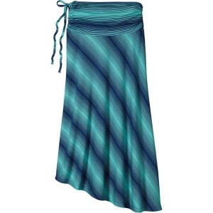 パタゴニア レディース スカート ボトムス Patagonia Kamala Skirt - Women's Reflection Stripe/Howling Turquoise