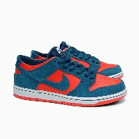 "ナイキSB NIKE SB MEN'S NIKE ZOOM DUNK LOW PRO ""REVERSE SHARK"" [854866-336 NIGHT SHADE/RED]ナイキエスビー ナイキ..."