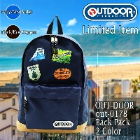 【 OUTDOOR PRODUCTS 】 Web限定 プリント デイパック / OUT-0178【ポイント2倍】【送料無料】【リュック】【デイパック】【バックパック】【通学用】【男性】【お出かけ】...