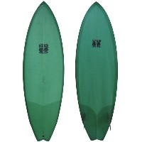 ★ MADE IN CALIFORNIA ★ Malcom Campbell Brothers Alpha Omega Twin 5'8 Surfboard