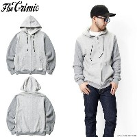 【CRIMIE/クライミー】CRIMIE SWEAT & HEAVY THERMAL PARKA (GRAY) [C1F5-SW14]