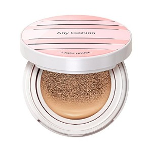 ETUDE HOUSE ANY Cushion All Day Perfect / エチュードハウス エニークッションオールデイパーフェクトSPF50+/ PA+++ (Tan) [並行輸入品]