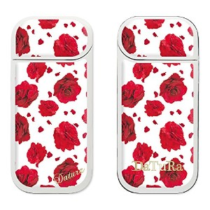 【iQOS専用 Gizmobies / ギズモビーズ】DaTuRa(ダチュラ)×Gizmobies/ RED ROSE WHITE [ZK-0045-IQOS-A]