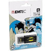 EMTEC Click 8 GB USB 2.0 Flash Drive, Batman [並行輸入品]