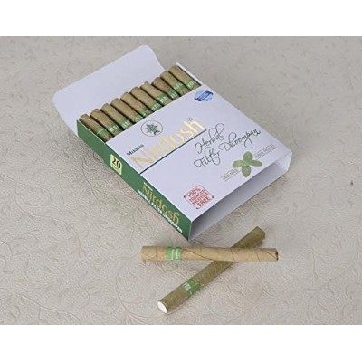 Nirdosh Herbal Nicotine Free Cigarettes - Made with Ayurvedic Herbs by Nirdosh