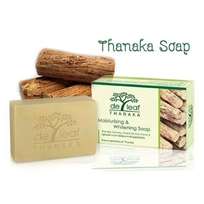 Thanaka Herbal Soap, (100 G.) X3 Count by Herbs