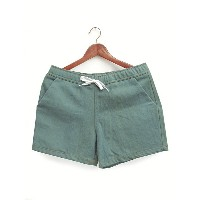 PLEASANT(プレザント)/ GREEN DENIM SHORTS Col.GREEN/ SP-03