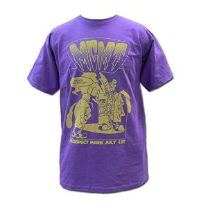 MGMT Tシャツ Buzz on PURPLE M