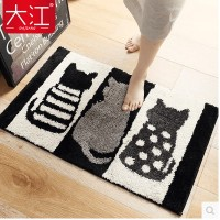 Dajiang door bathroom water mat mat door door door mattress home bathroom foot pad carpet bedroom no