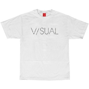 【15-16 V/SUAL SCRATCHED TEE】【V/SUAL Tシャツ】VISUAL Tシャツ/ビジュアル Tシャツ/半袖/MENS/メンズ