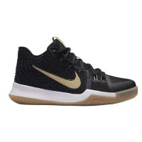 "Nike Kyrie 3 ""Badge of Honor"" キッズ/レディース Black/Linen/Gum Light Brown ナイキ カイリー3 Kyrie Irving カイリー..."