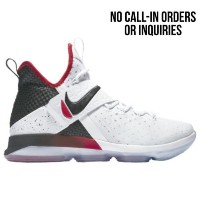 (取寄)Nike ナイキ メンズ レブロン 14 Nike Men's LeBron 14 White Black University Red