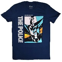THE POLICE ポリス Massage In a Bottle Tシャツ