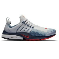 "Nike Air Presto ""Olympic""メンズ Neutral Grey/Comet Red/Obsidian/Black ナイキ エアプレスト スニーカー"