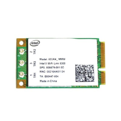インテル Intel Wireless WiFi Link 5300 802.11a/b/g/n 450Mbps PCIe Mini 無線LANカード 533ANMMW